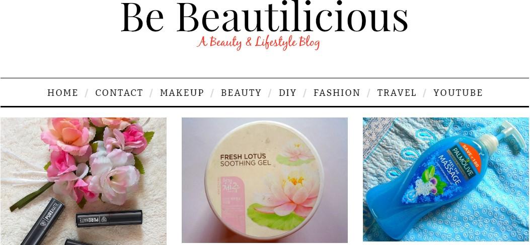 Be Beautilicious Blog