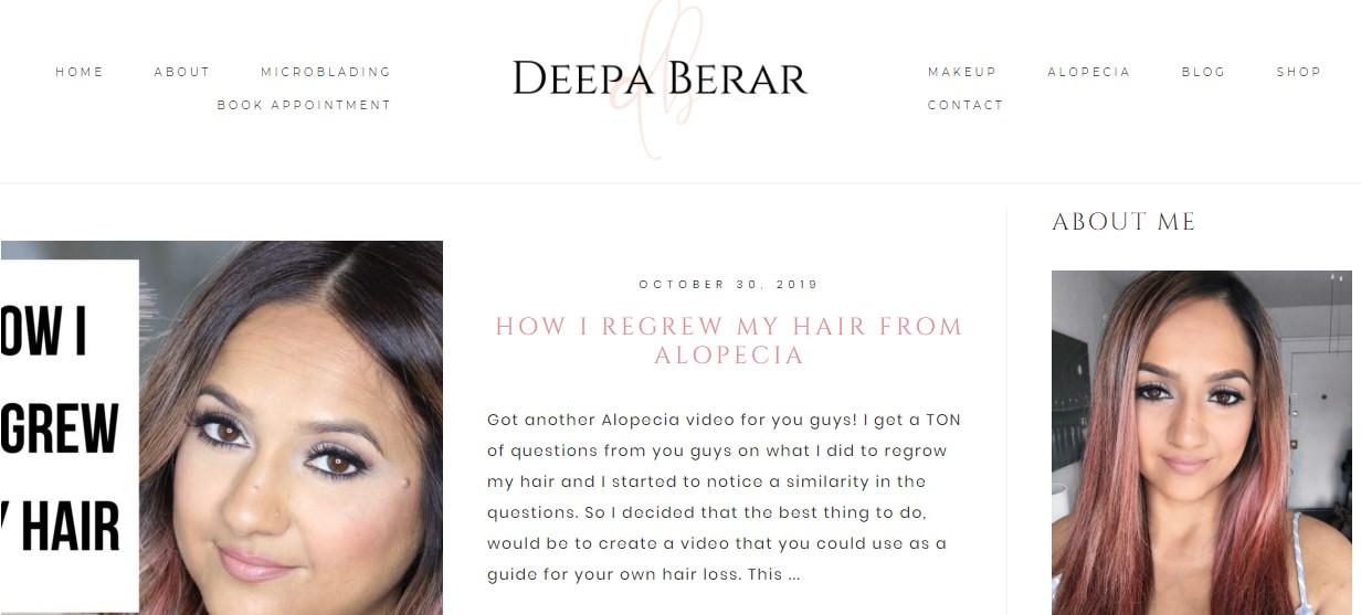 Deepa Berar Blog