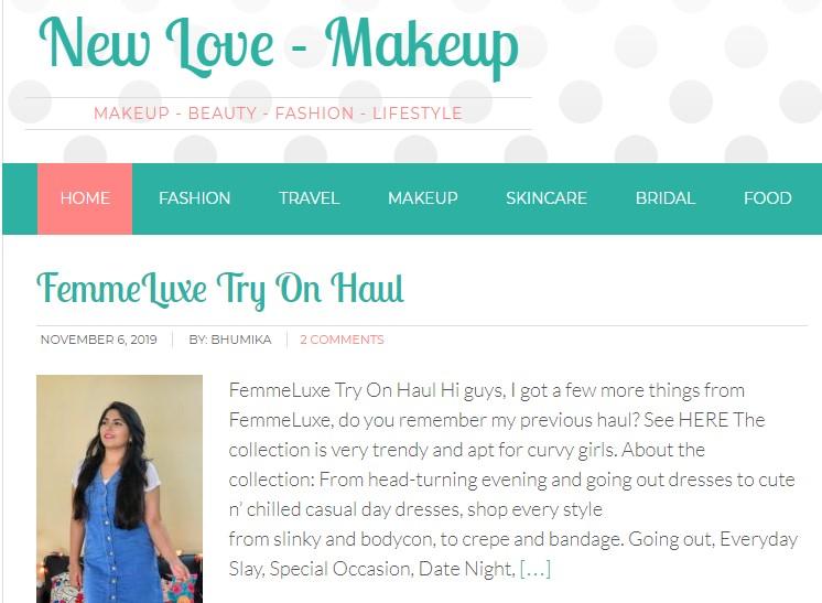 NewLove Makeup Blog