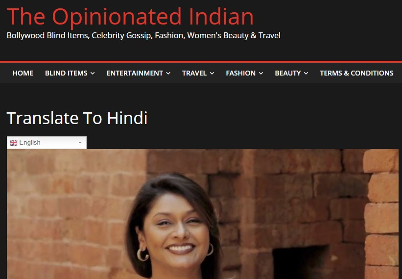 The Opinionated Indian