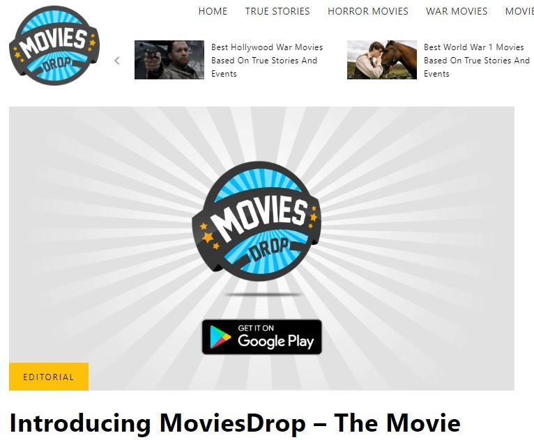 movies drop