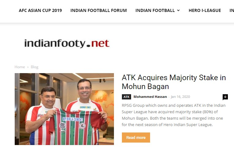 Indian football network