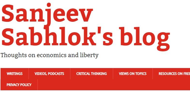 sanjeev sabhlok blog