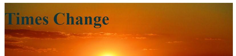 times change blog