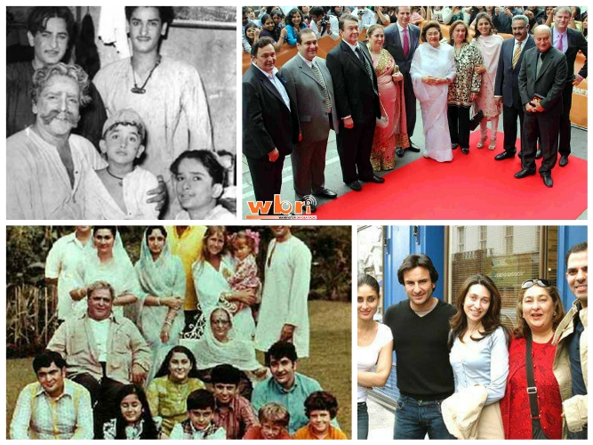 kapoors bollywood families