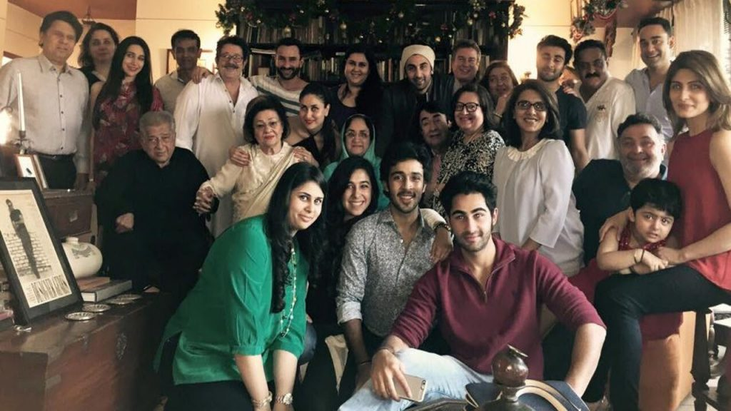 kapoor family of bollywood