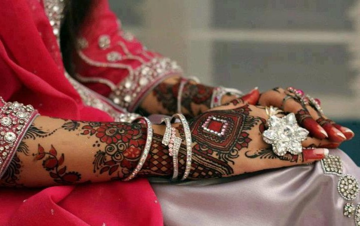 New Bridal Mehndi Designs 2013