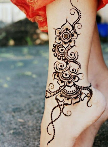 henna mehndi tattoo design