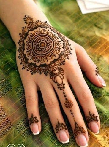 henna mehndi tattoo design 2