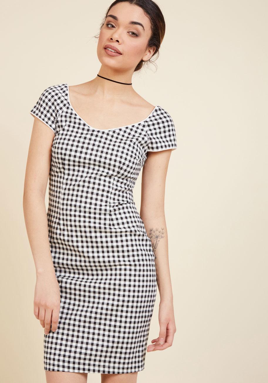 A Sheath Dress