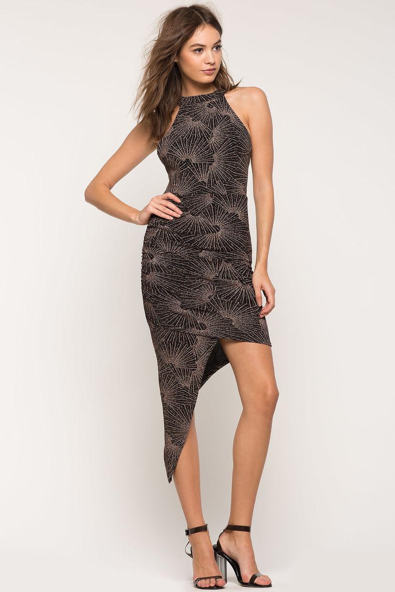 An Asymmetrical Dress