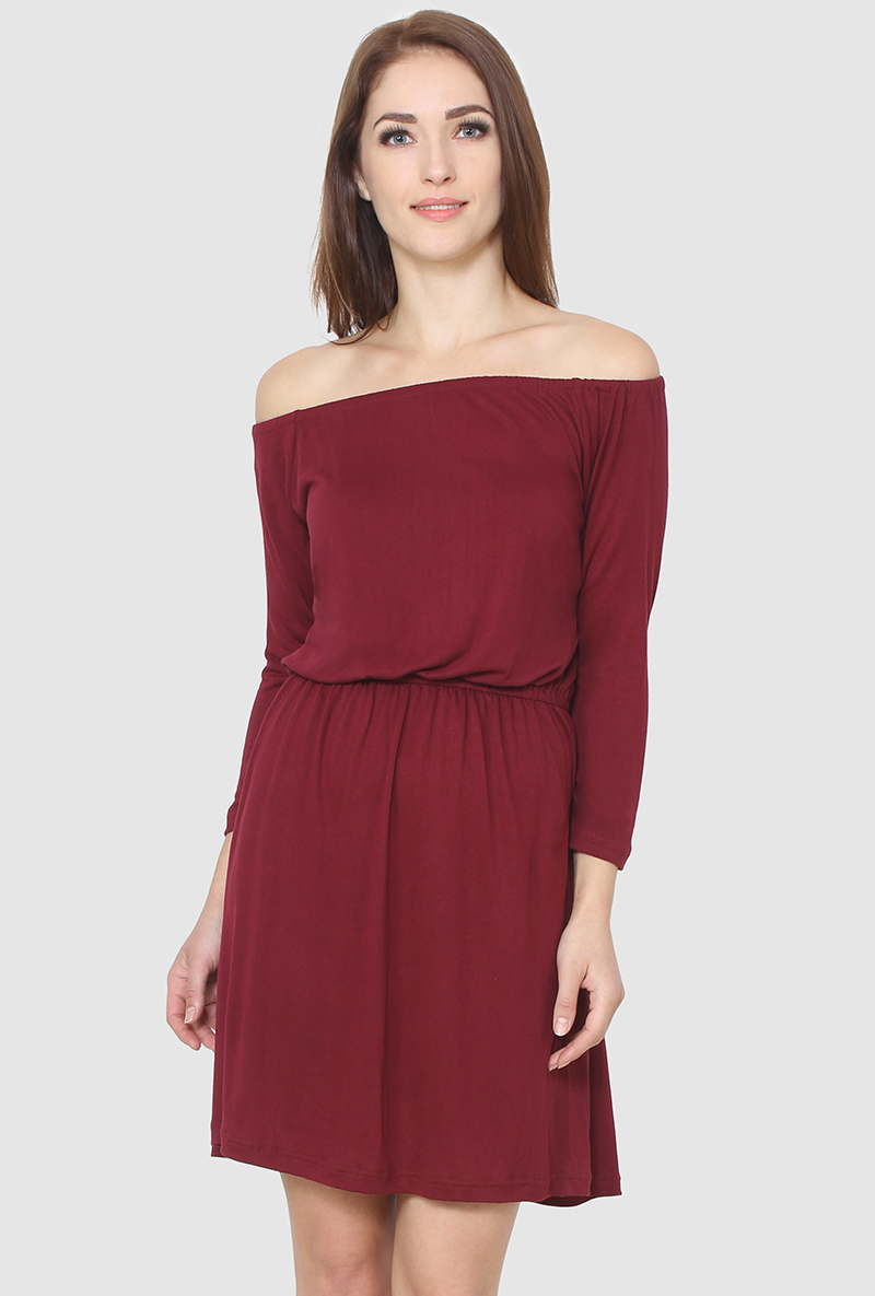 A Blouson Dress