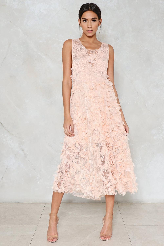 A Midi Dress
