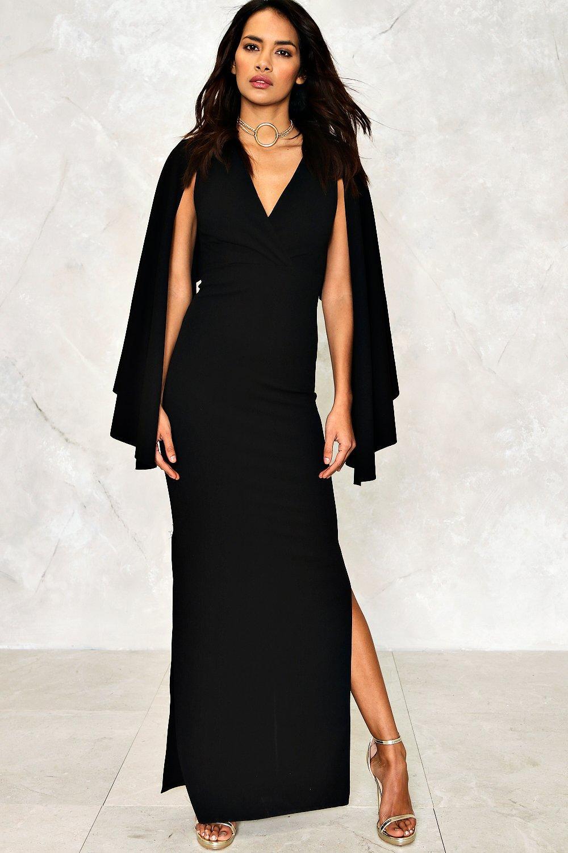 A Cape Dress