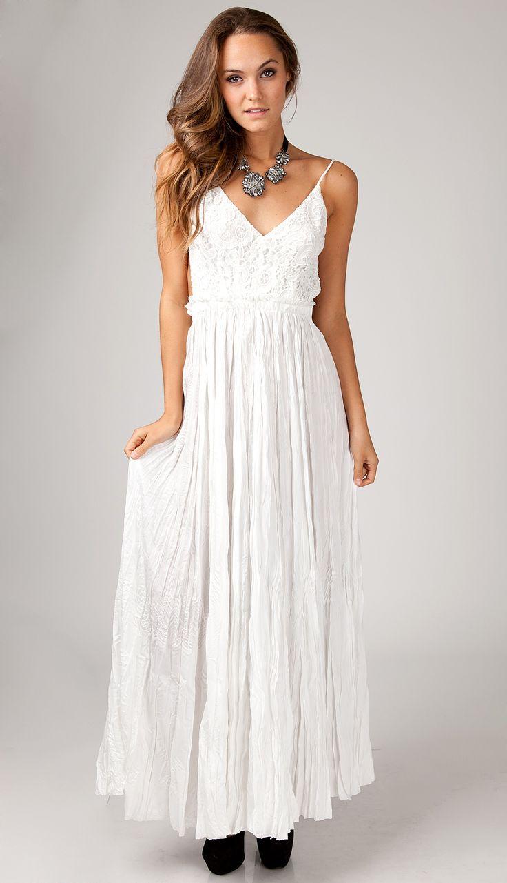 A Casual Maxi Dress