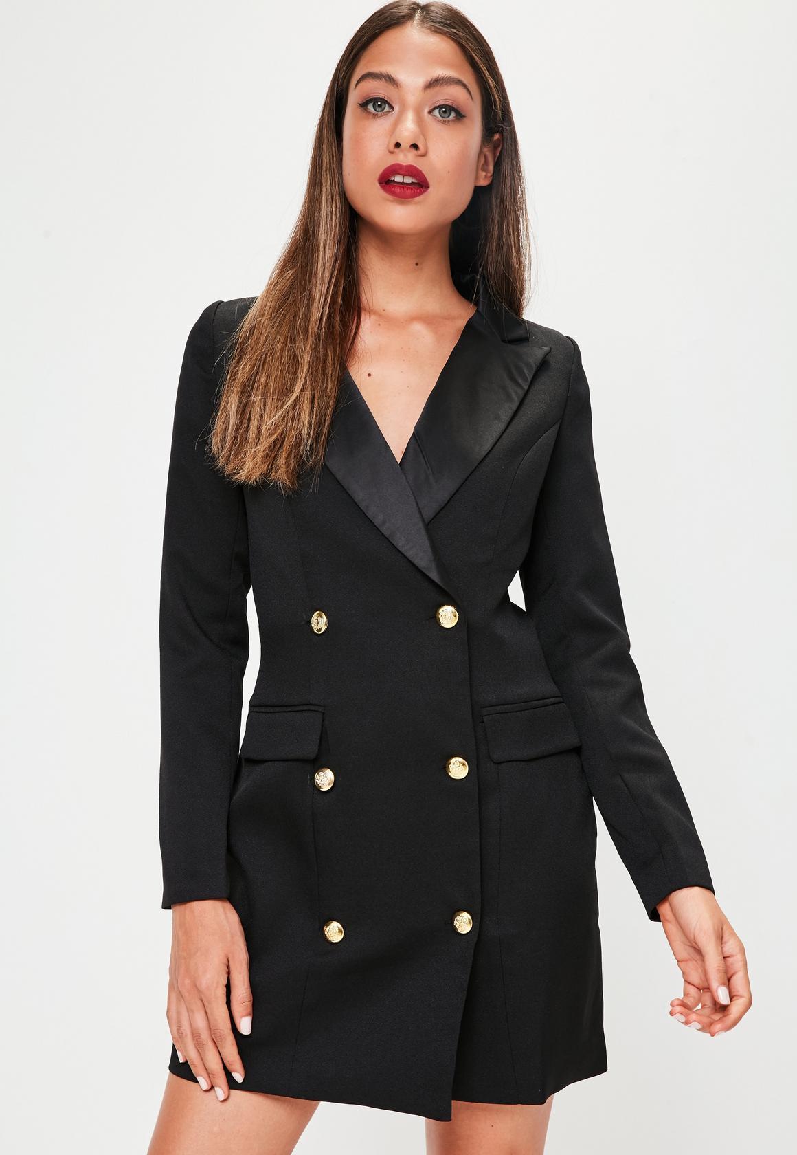 A Tuxedo Dress