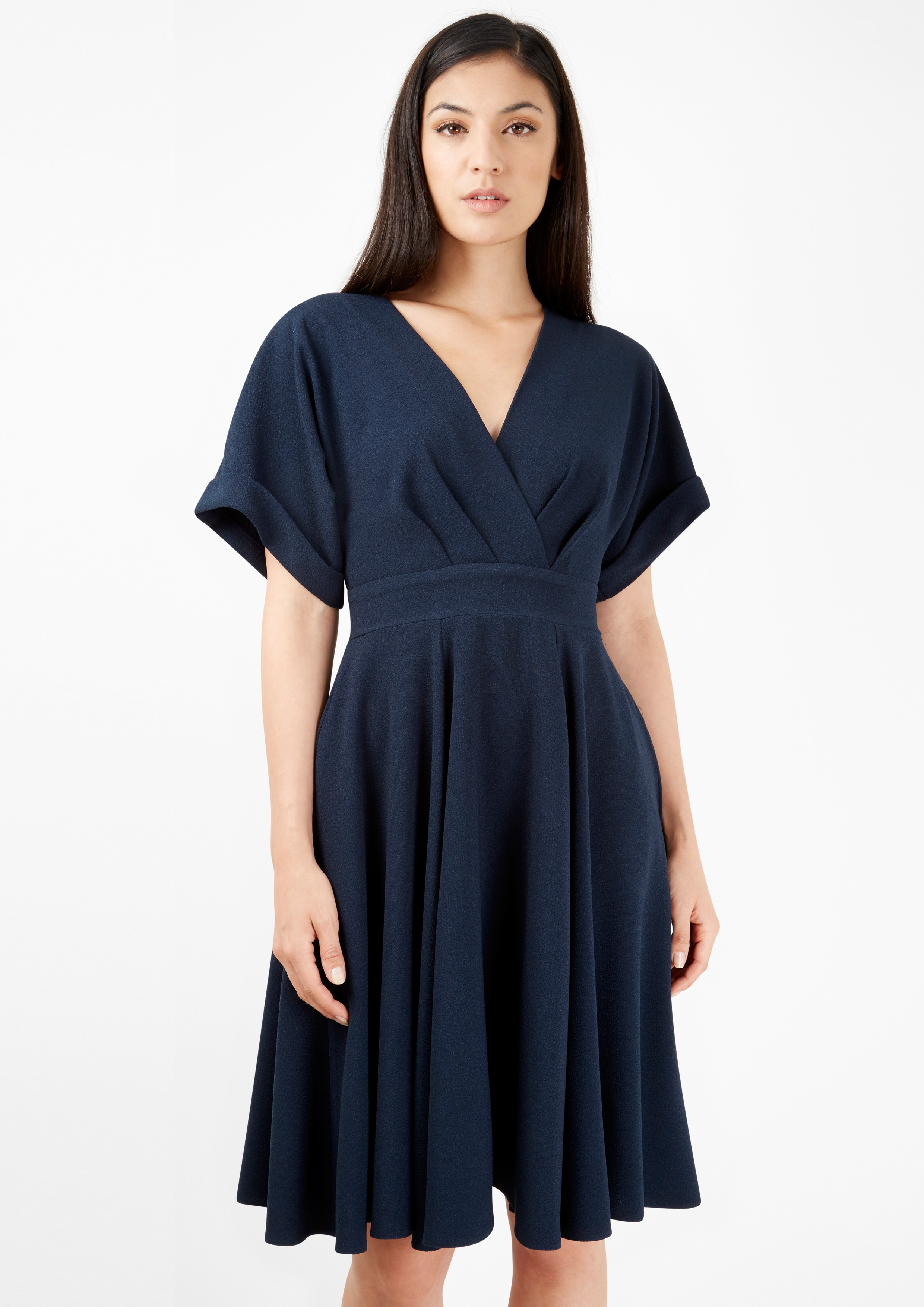 A Flared Dress