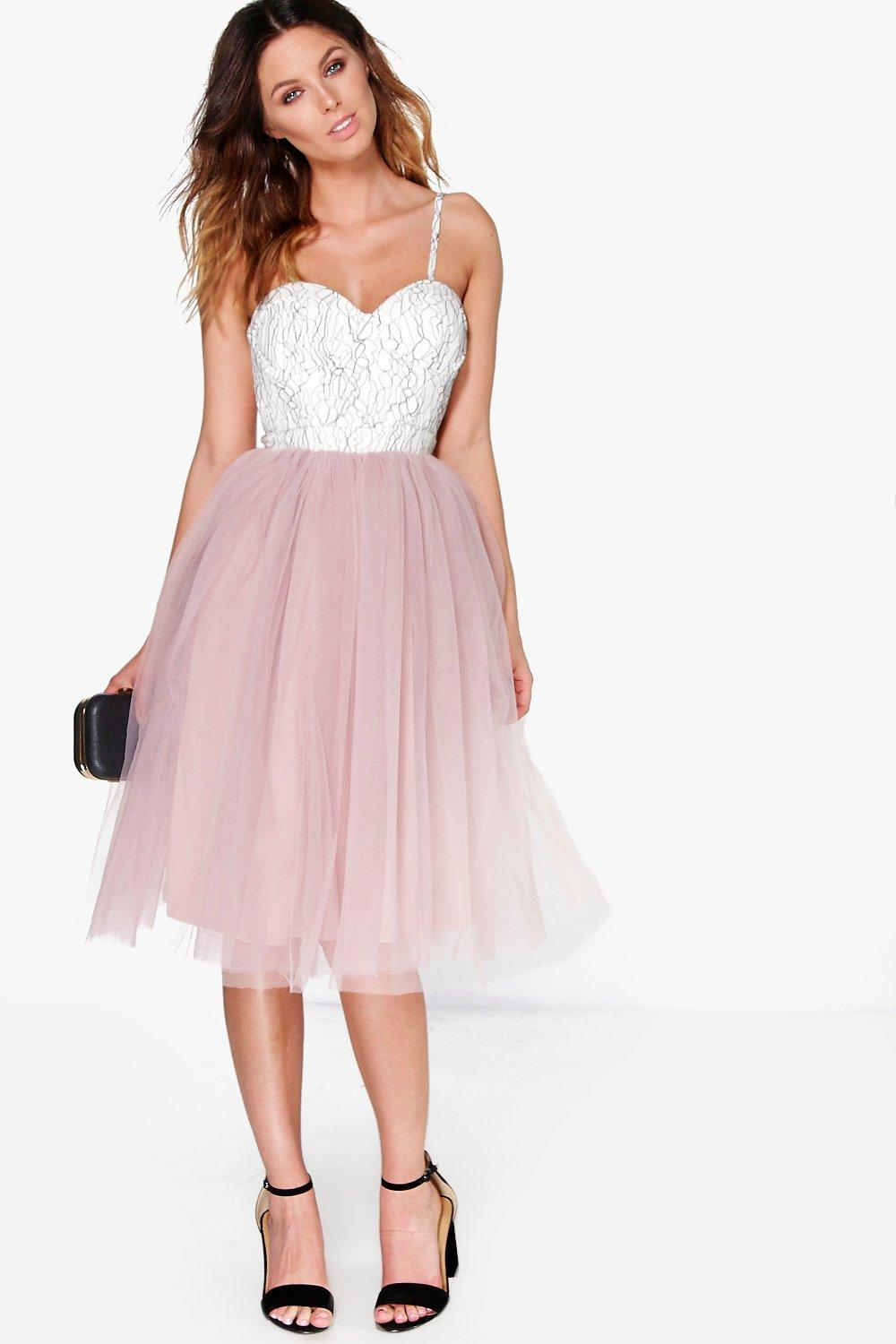 A Tulle Dress