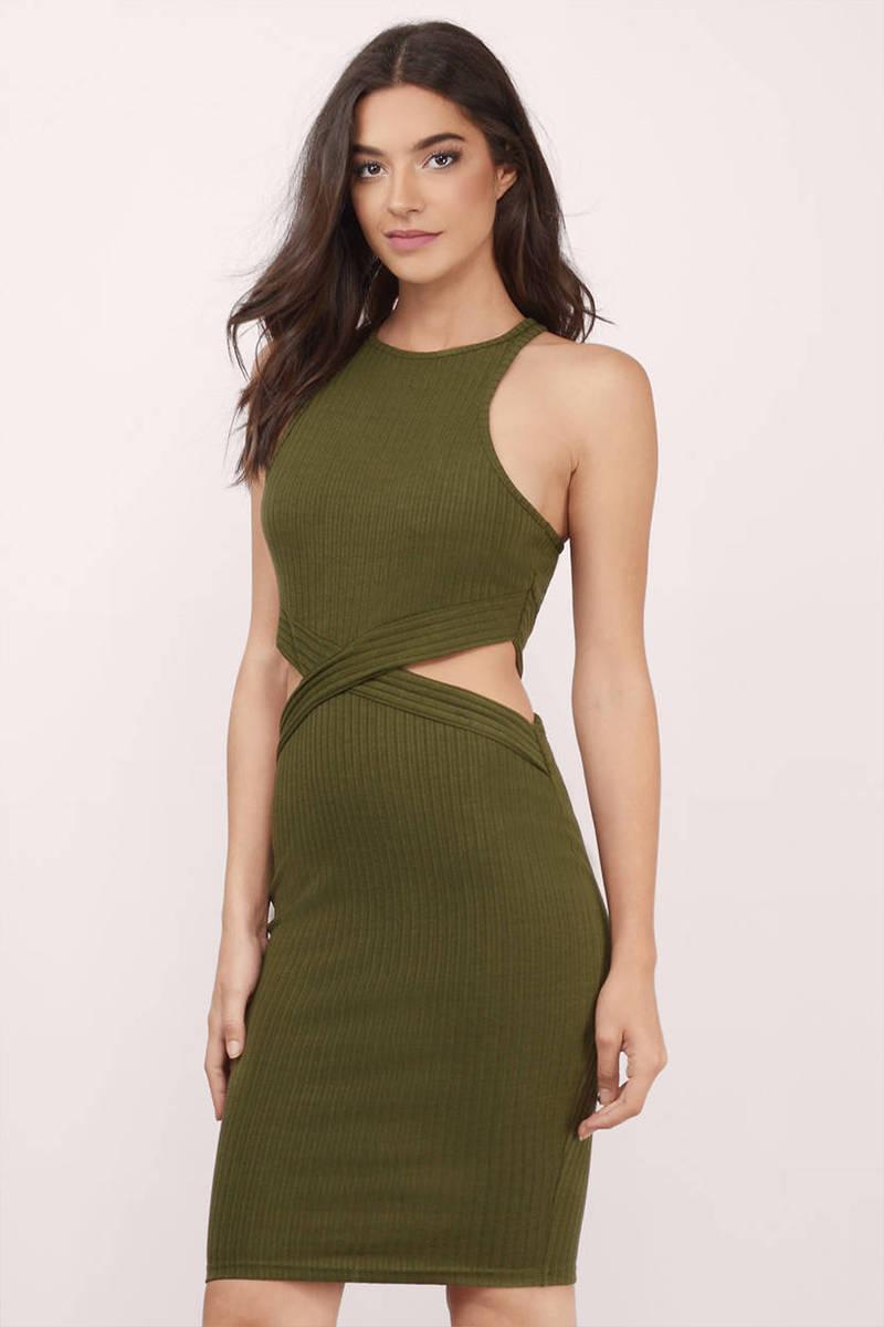 A Cut-Out Dress