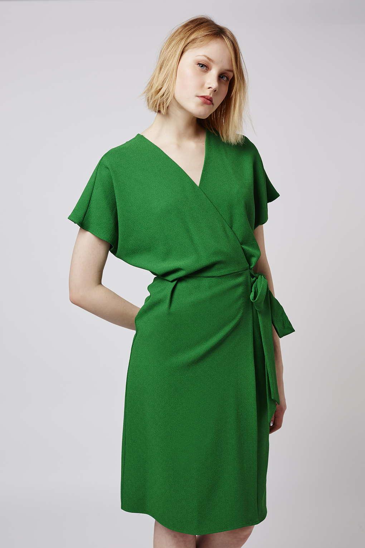 A Wrap Dress