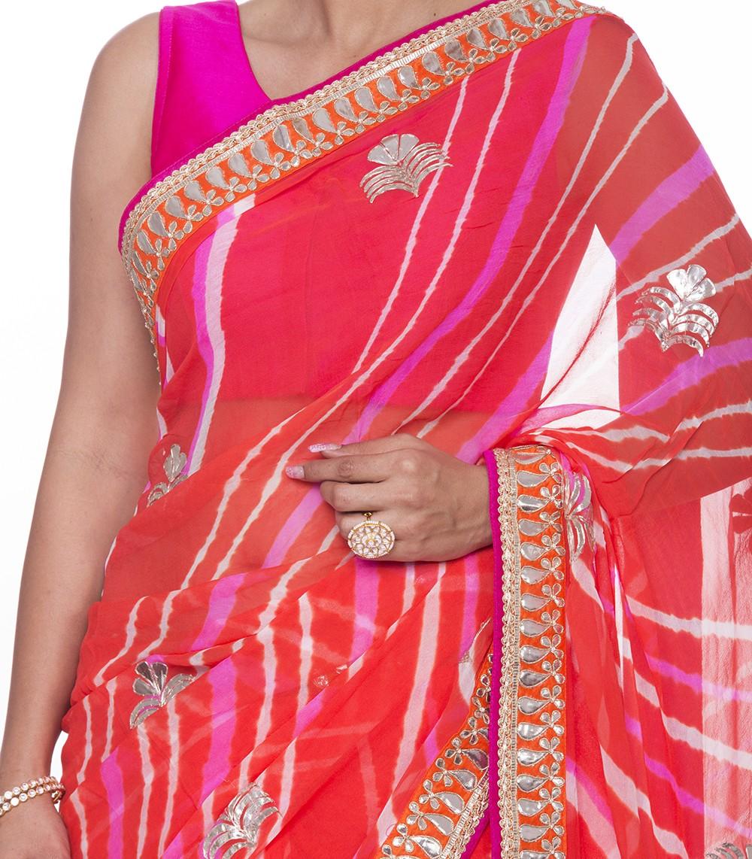 Gota Patti Saree