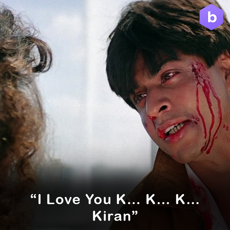 Shah Rukh Khan Darr Dialogues