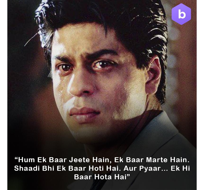 Shah Rukh Khan Kuch Kuch Hota Hai Dialogues