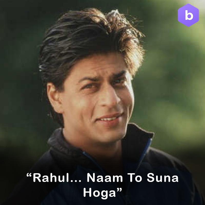 Shah Rukh Khan Dil Toh Pagal Hai Dialogues