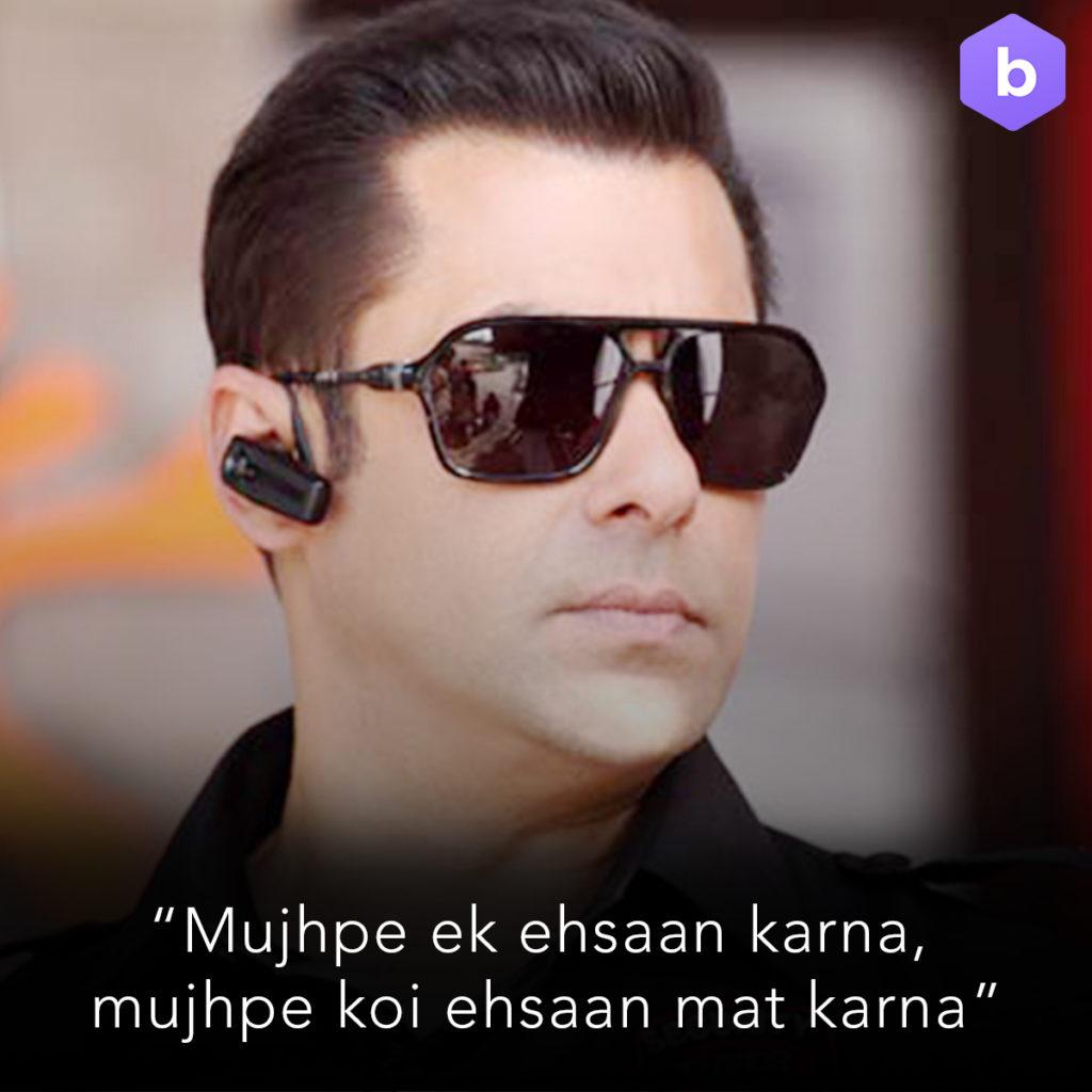 Salman Khan Bodyguard Dialogue