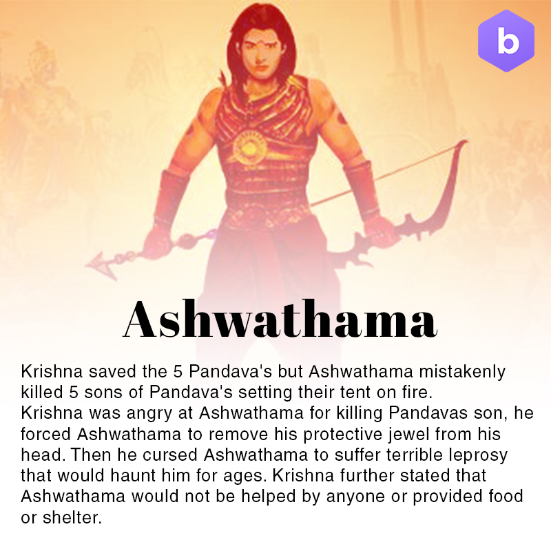 amazing facts about mahabharata, ashwathama mahabharata facts, ashwathama facts