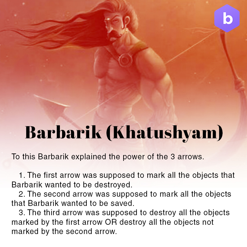 amazing facts about mahabharata, barbarik facts, khatu shyam ji facts