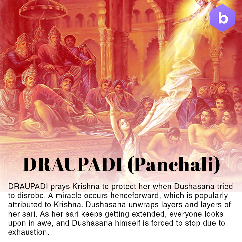 amazing facts about mahabharata, draupadi mahabharata facts
