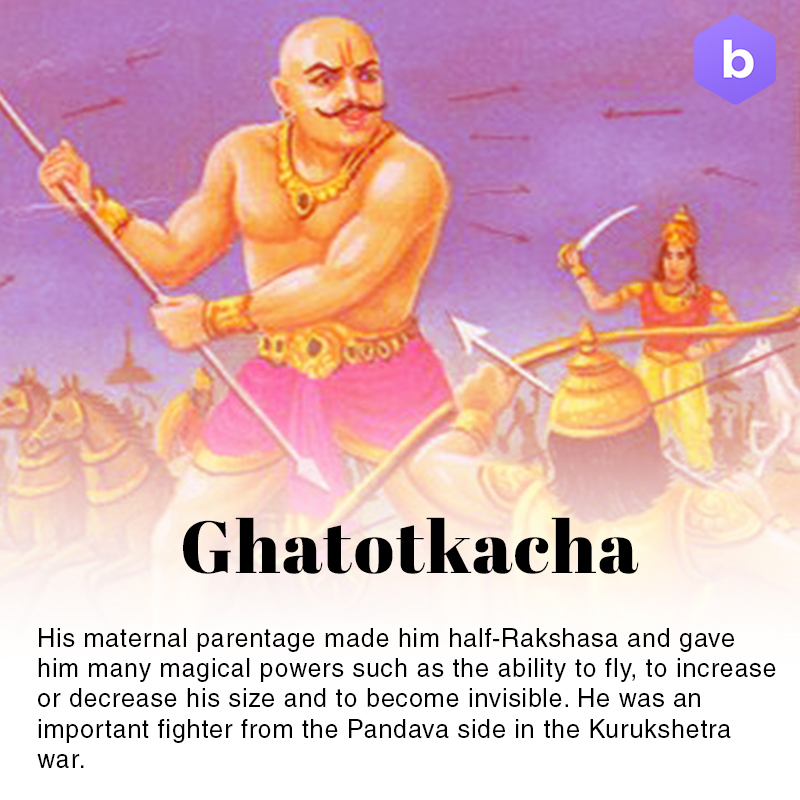 amazing facts about mahabharata, ghatotkacha facts