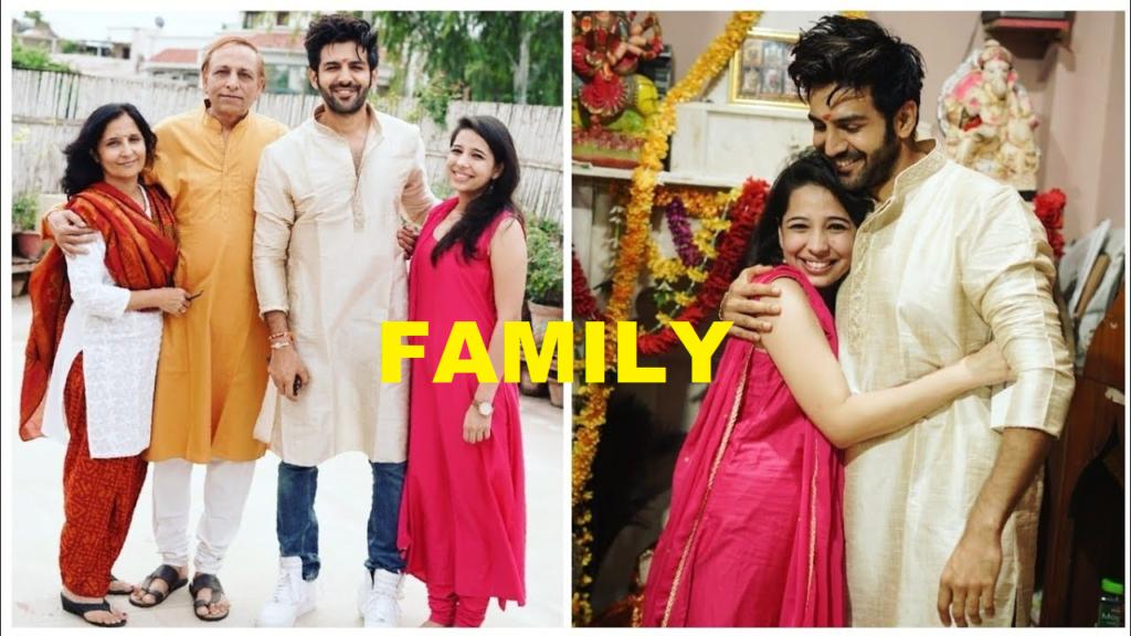 Kartik Aaryan Family