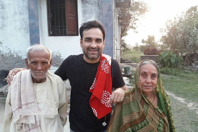 Pankaj Tripathi Father Mother