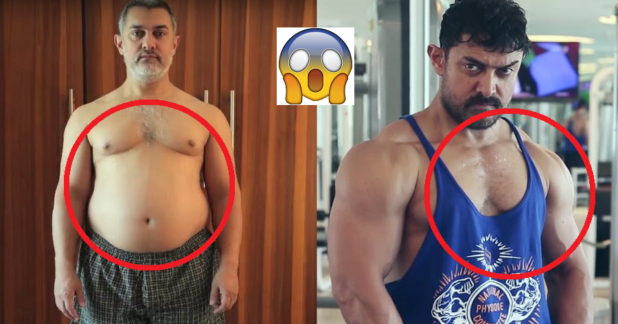 Aamir Khan Weight Loss Strategy