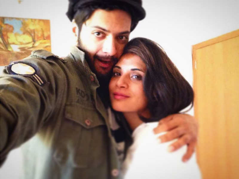 Ali Fazal Girlfriend Richa Chadha