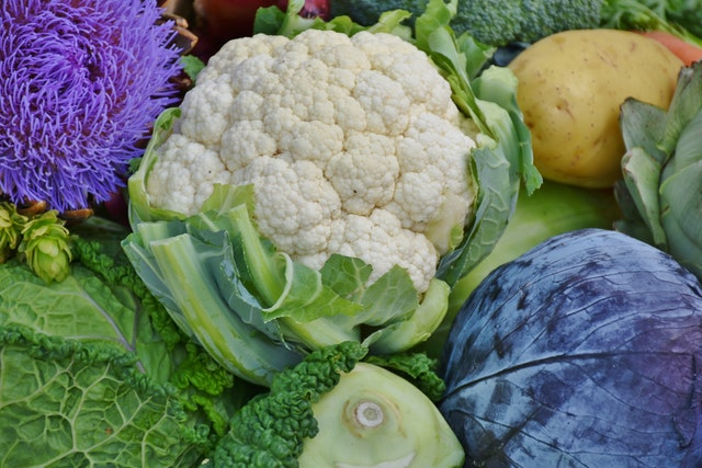 Cauliflower cruciferous vegetable