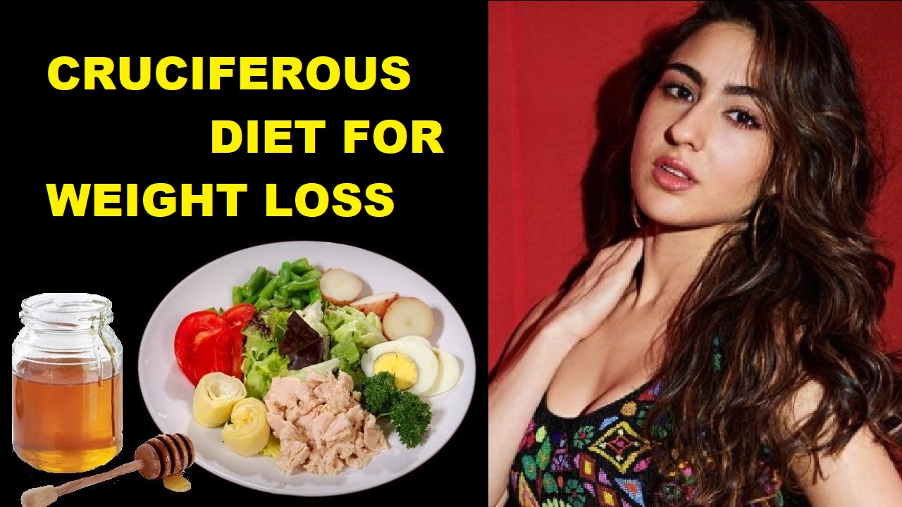 Cruciferours vegetables for weight loss