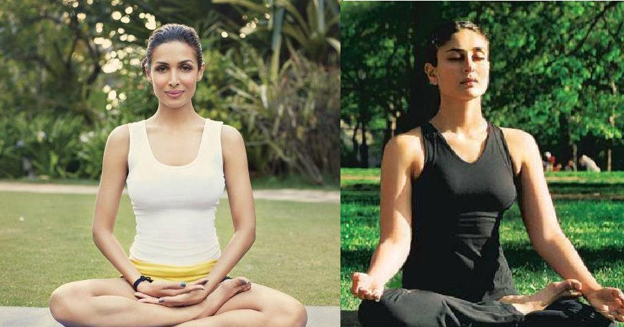 Bollywood actress Meditation