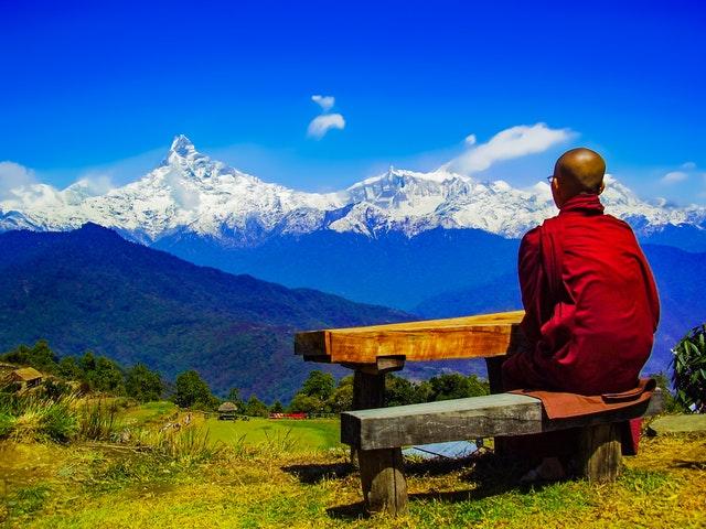 meditation monk buddha