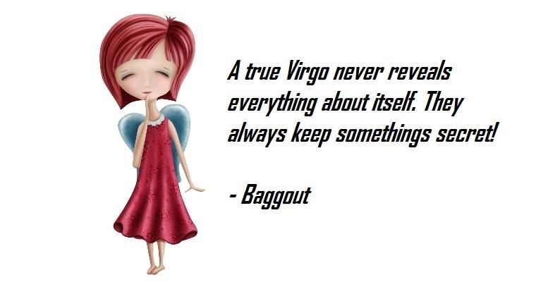 Virgos traits. Introvert Virgo