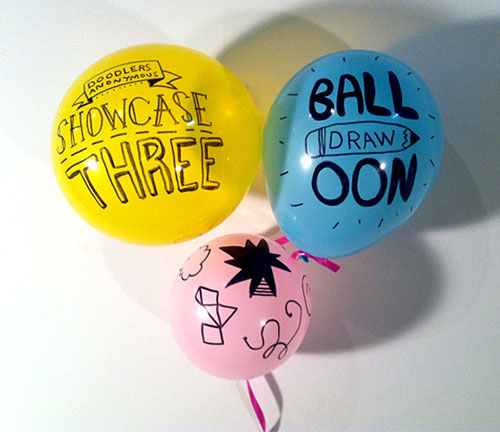 Doodle on balloon - Kitty party games for ladies