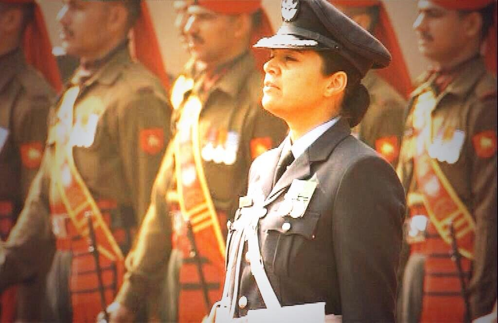 Wing Commander Pooja Thakur
