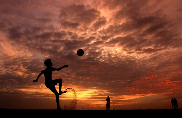 Footballer kid