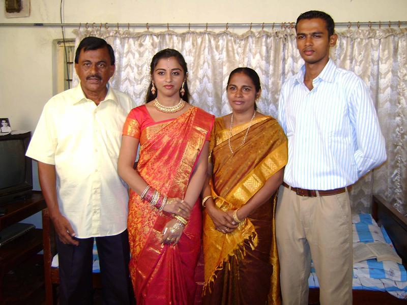 Dr Tessy Thomas Family