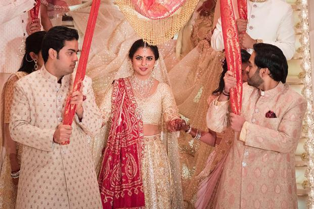 Isha Ambani Marriage