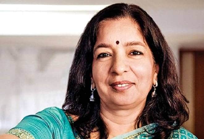 Shikha Sharma Closeup