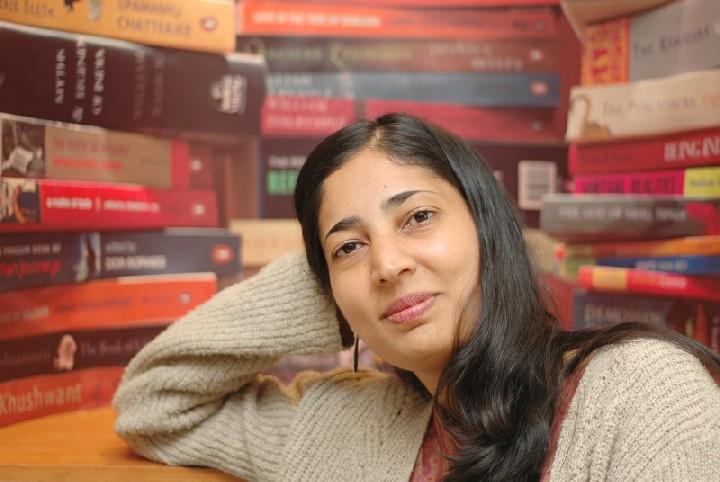 Writer Kiran Desai