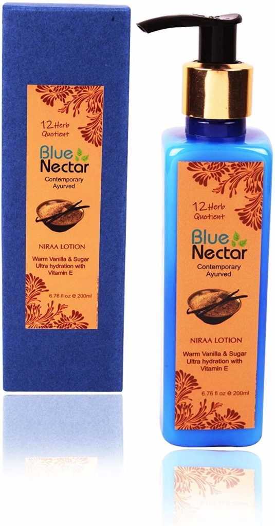 Blue Nectar Shea Butter Warm Vanilla and Sugar Body Lotion Cream with Vitamin E for ultra hydration